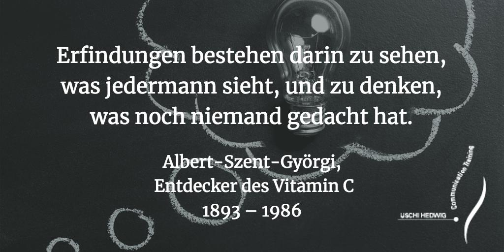Zitat Albert Szent-Gyoergi