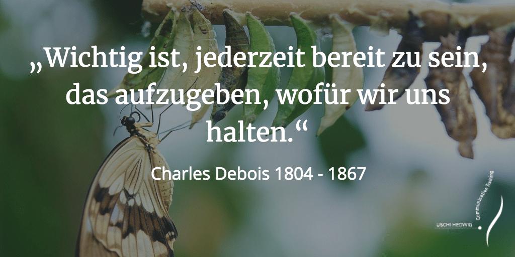 Zitat Charles Debois