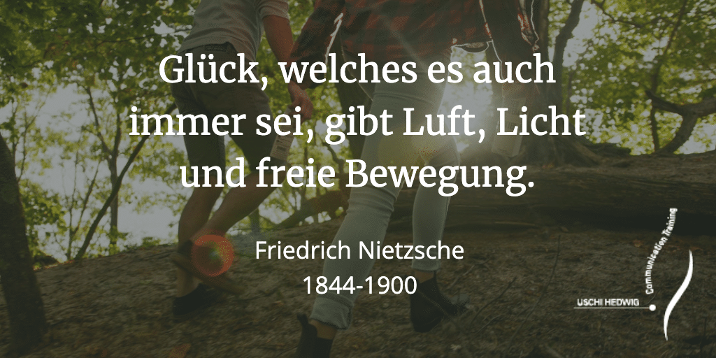 Zitat Friedrich Nietzsche - Glück